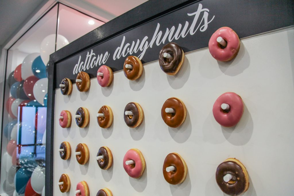 End of Financial Year Party Ideas - Doughnut Wall Doltone House